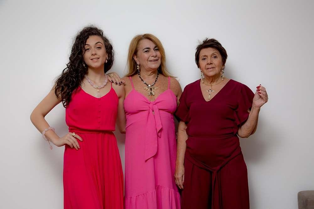 Luisa, Soraya e Marré